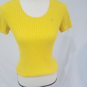 Ralph Lauren ribbed Yellow Sweater